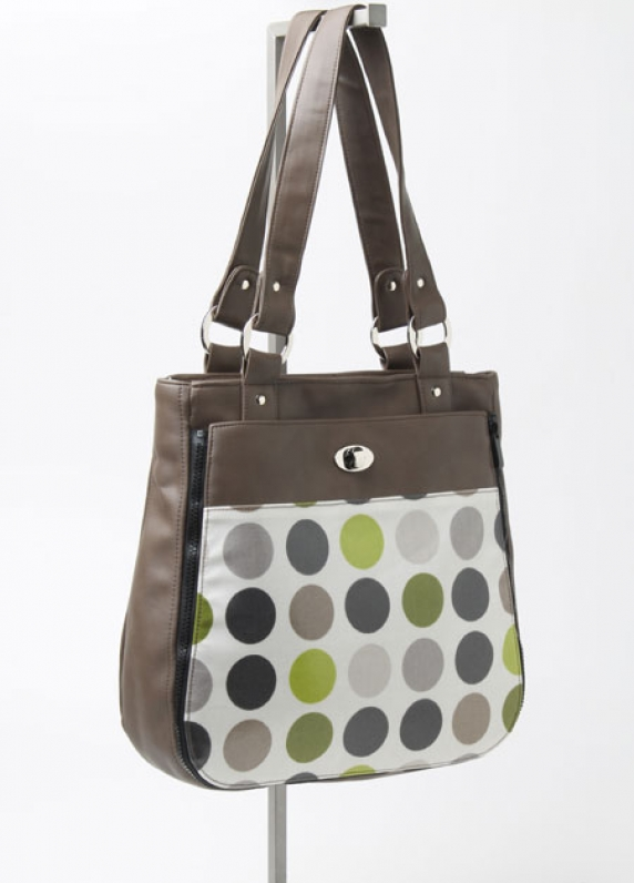 Tote with MultiDot Pocket