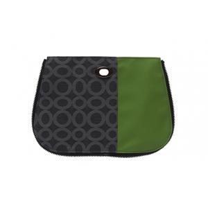 Handbag Pocket - Multi-Stripe Peapod