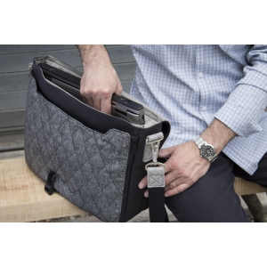 Interior features a padded laptop sleeve